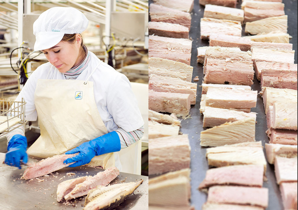 Artisan elaboration of tuna