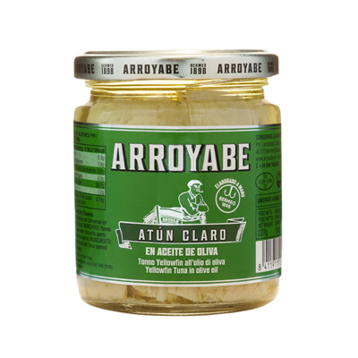 Arroyabe Tuna in olive oil jar
