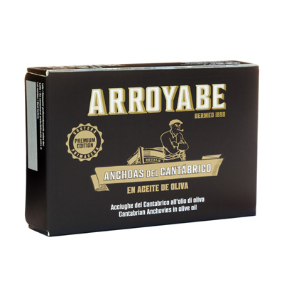 Arroyabe Cantabrian Anchovies 80 gr.