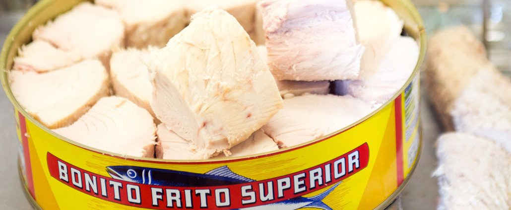 How is canned tuna made?