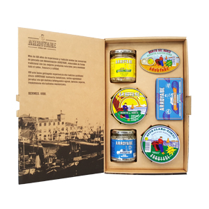 Flavours of the sea gift box