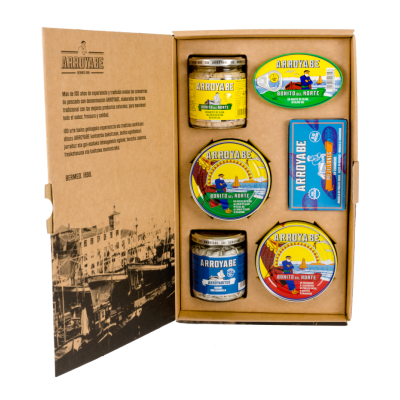 Preserves cantabrian sea gift box