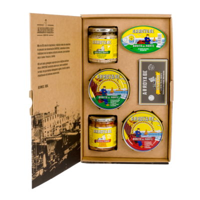 Bermeo traditional preserves gift box